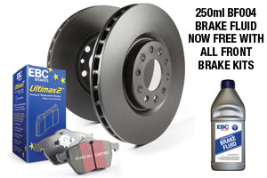 NISSAN 350Z - EBC Brakes Pad And Disc Kit To Fit Front - TDi North