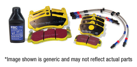 EBC Performance Pack Pad+Line Kit With Yellowstuff Pads