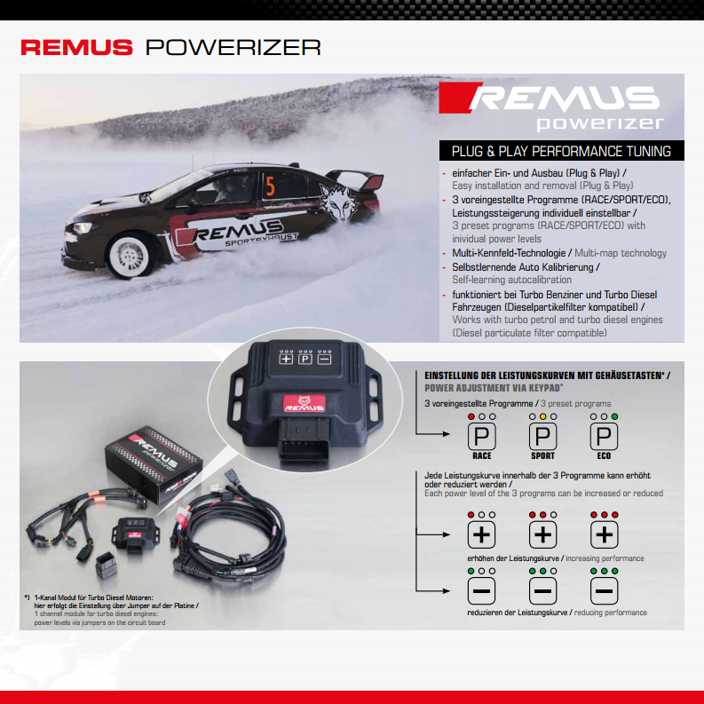 REMUS POWERIZER 2.2 I-CDTI 140HP - TDi North