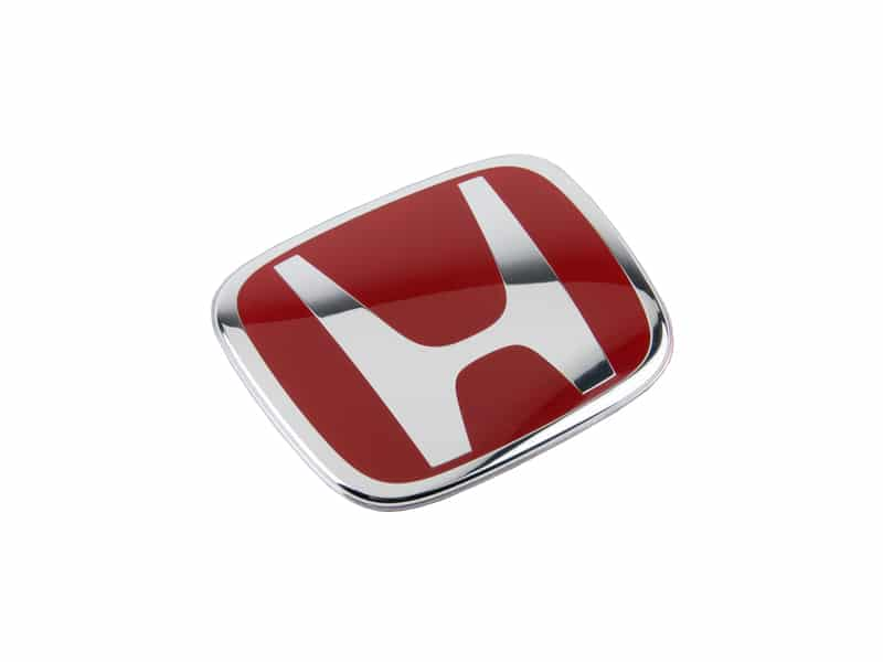 GENUINE HONDA CIVIC TYPE-R EP3 REAR RED H BADGE 2001-2005
