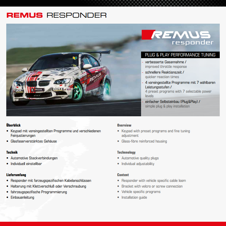 REMUS RESPONDER CIVIC TYPE R FK2 - TDi North