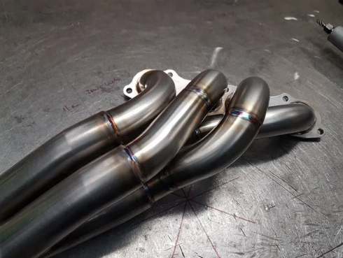 SOLID FABRICATIONS - HONDA S2000 BIG BORE HEADER