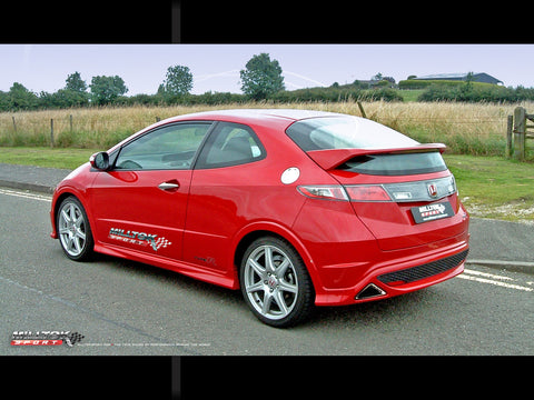 MILLTEK EXHAUST SYSTEM CIVIC TYPE R FN2 - TDi North