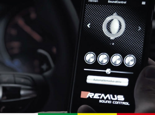 REMUS ESC - SOUND CONTROLLER FOR VALVETRONIC EXHAUST - TDi North