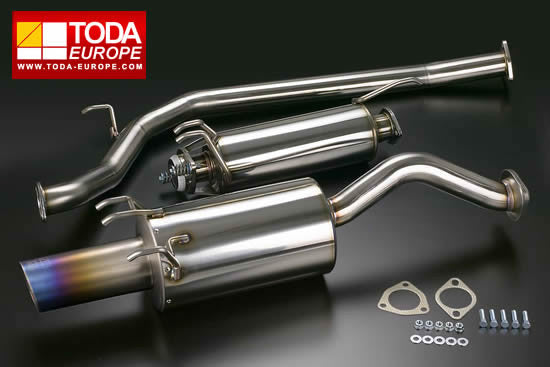 Toda Racing Exhaust System - FD2