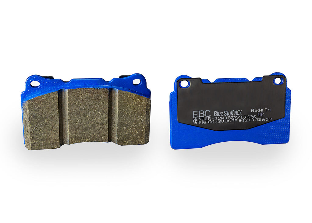 EBC BLUESTUFF NDX FAST STREET/TRACKDAY BRAKE PAD SET TO FIT FRONT  - HONDA CIVIC FK8 & FK2 - TDi North