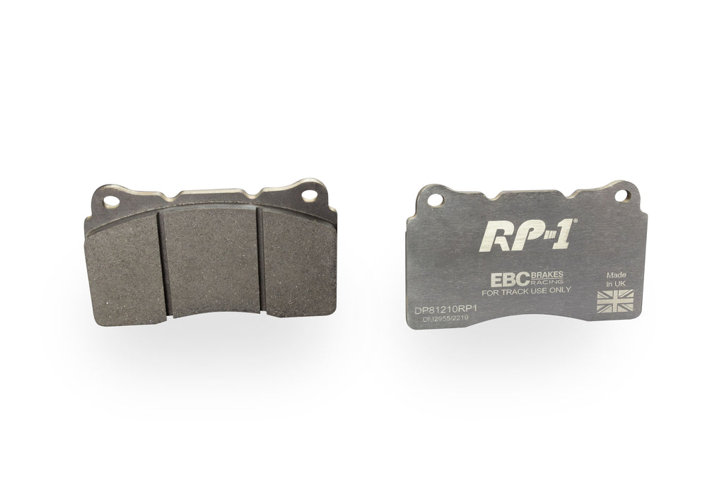 HONDA CIVIC FK8 - EBC Racing RP-1™ Track And Race Brake Pads To Fit Front - TDi North