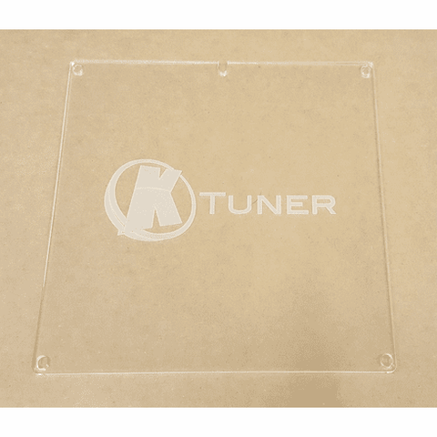 KTuner - Clear ECU Cover with Logo