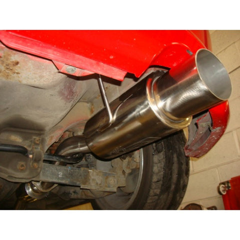 COBRA EP3 CAT-BACK EXHAUST WITH ROUND TAILPIPE - TDi North