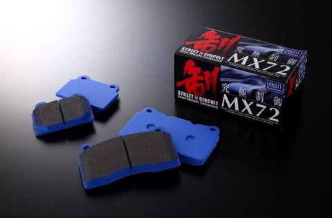 ENDLESS MX72 PERFORMANCE BRAKE PADS - HONDA