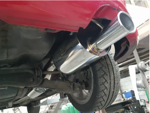 SOLID FABRICATIONS - HONDA CIVIC TYPE R EP3 3 INCH SUPER SILENT CAT BACK EXHAUST
