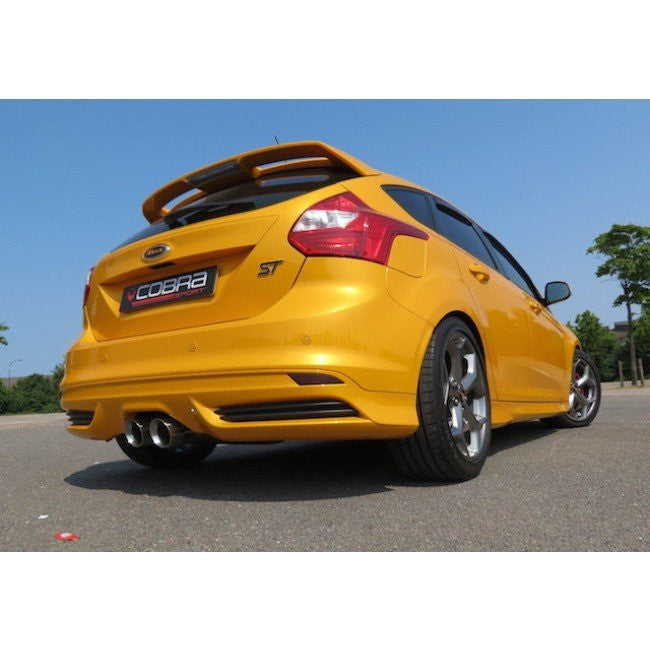COBRA SPORT | FORD FOCUS ST | CAT BACK EXHAUST | RESONATED - TDi North