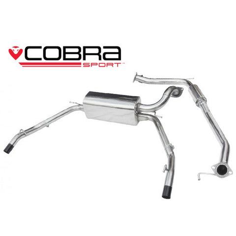 COBRA FN2 CAT BACK EXHAUST SYSTEM