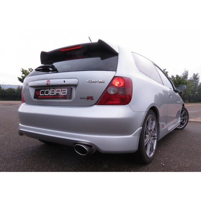 COBRA EP3 REAR EXHAUST SILENCER WITH OVAL TAILPIPE - TDi North