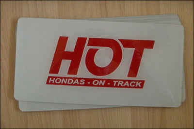 HONDAS ON TRACK SHOW PLATES - TDi North