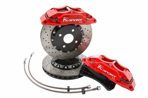 (3) K-SPORT BIG BRAKE KIT - FRONT - 330MM 8 POT CALIPER KIT - TDi North
