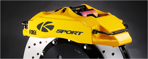 (2) K-SPORT BIG BRAKE KIT - FRONT - 304MM 6 POT CALIPER KIT