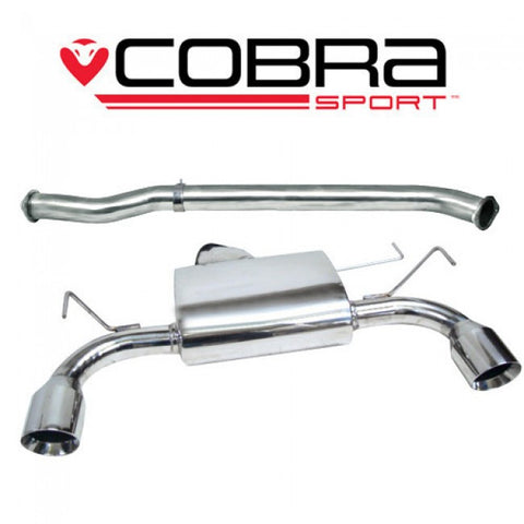 COBRA 350Z CENTRE AND REAR EXHAUST