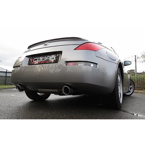 COBRA 350Z CENTRE AND REAR EXHAUST - TDi North