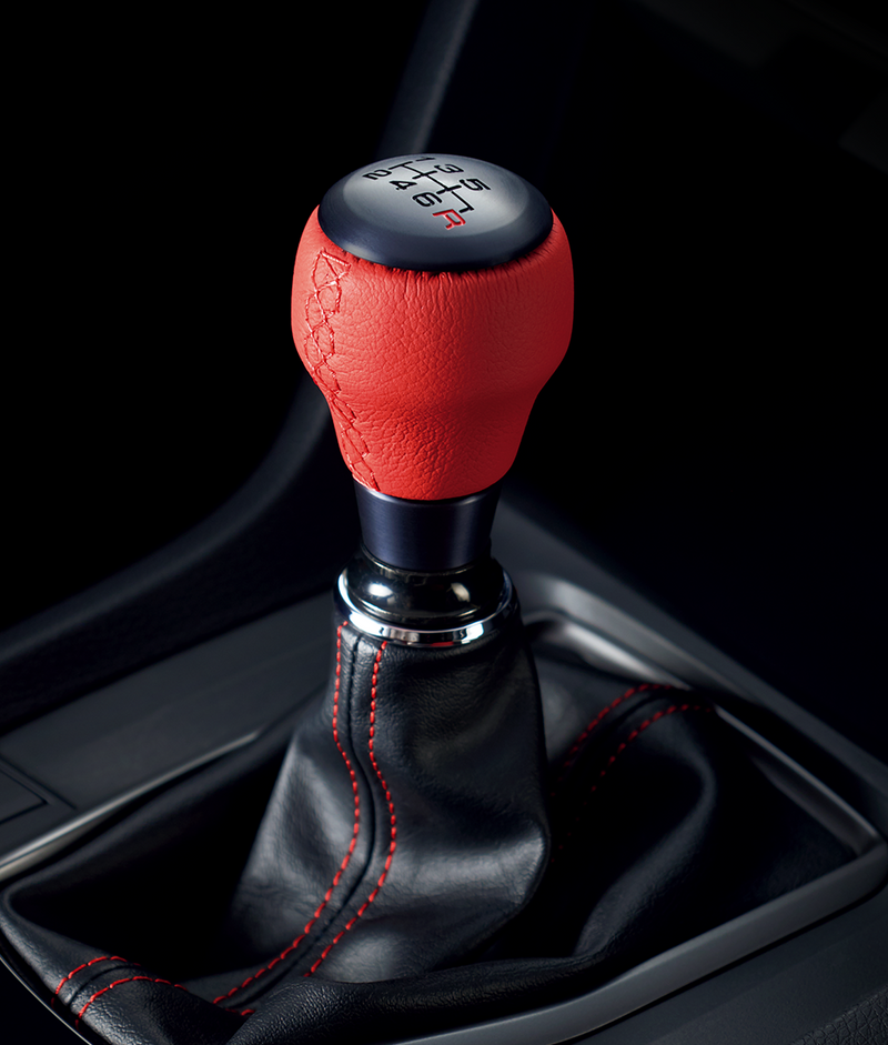 GENUINE HONDA CHANGE KNOB CIVIC TYPE R FK8 - RED - TDi North