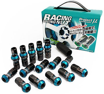 PROJECT MU Racing Floating Nut Set