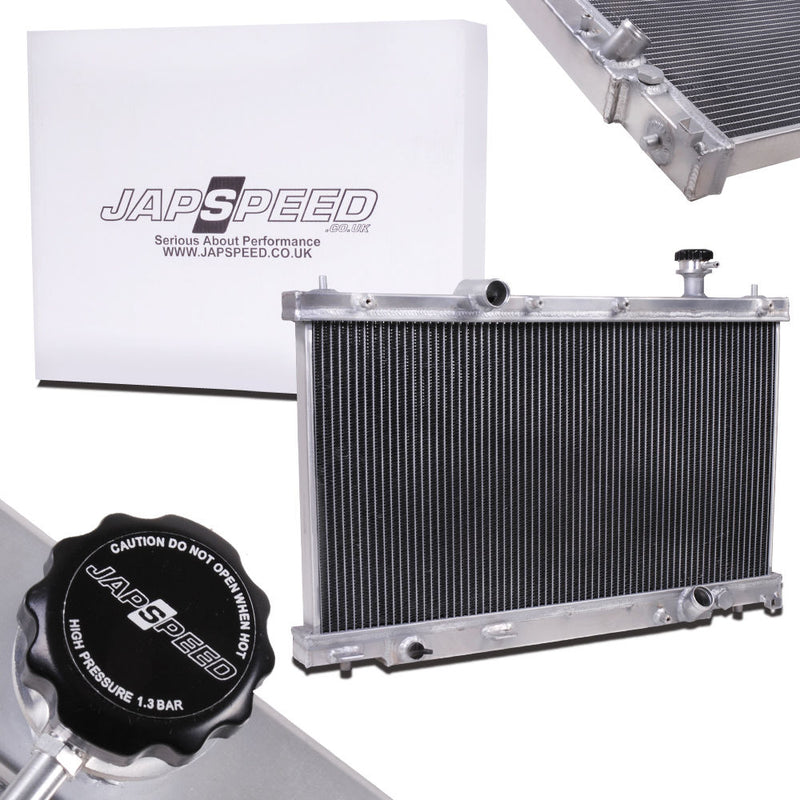 Japspeed Honda Civic Type-R EP3 Aluminium Radiator - TDi North