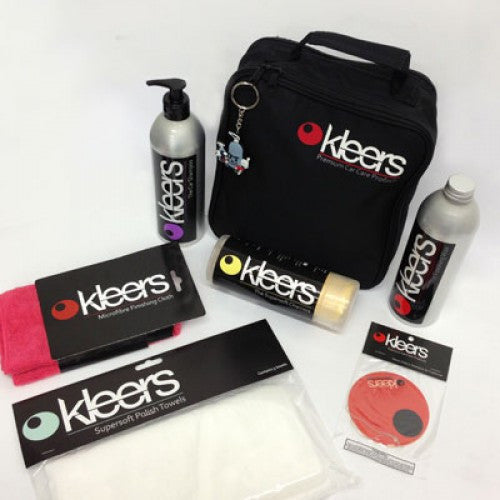 KLEERS WASH/WAX & DRY CARE KIT - TDi North