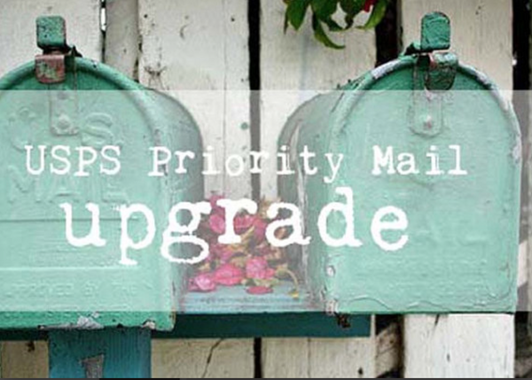 upgrade your shipping service from first class to PRIORITY mail, will ship NEXT DAY FOR RETAIL ONLY