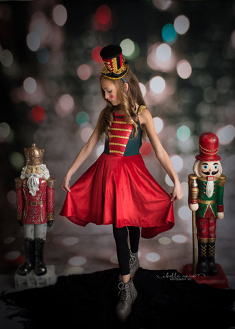NUTCRACKER second quality dress and cape set