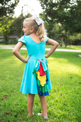 """Dash"" the dress with a ponytail!"