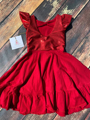 Scarlett red Salsa dress