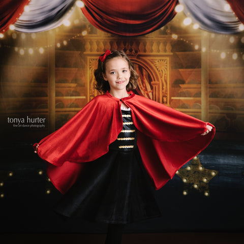 Showman second quality  dress and cape set