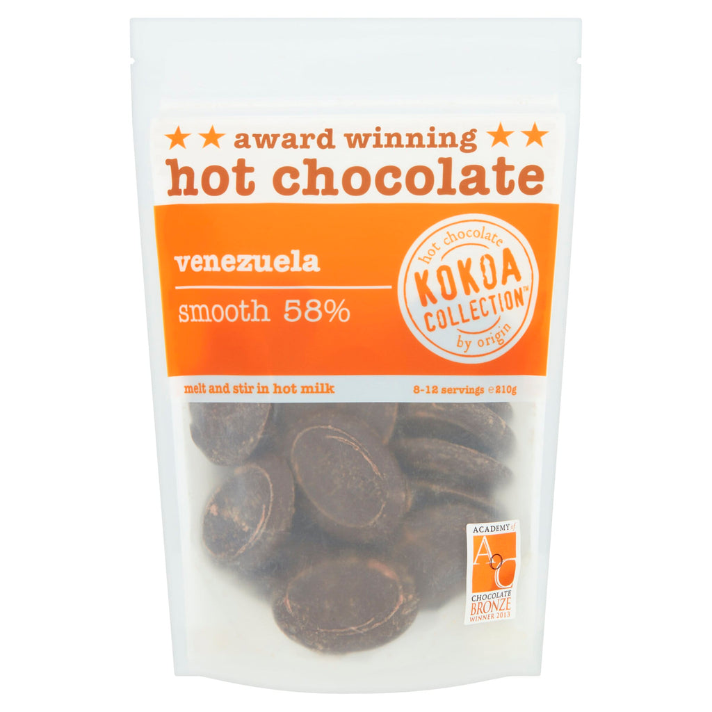 Kokoa Collection - Venezuela (58% Cocoa) Hot Choc Tablets