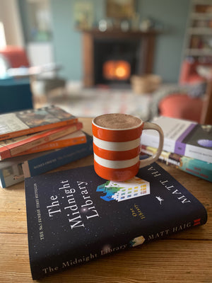 Favourite fireside reads (with a mug of hot chocolate)