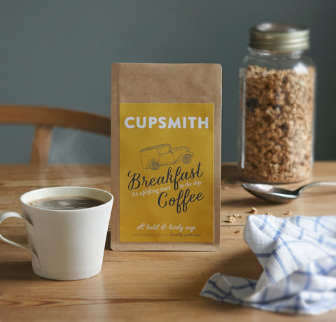 Cupsmith Breakfast Coffee for cafetiere