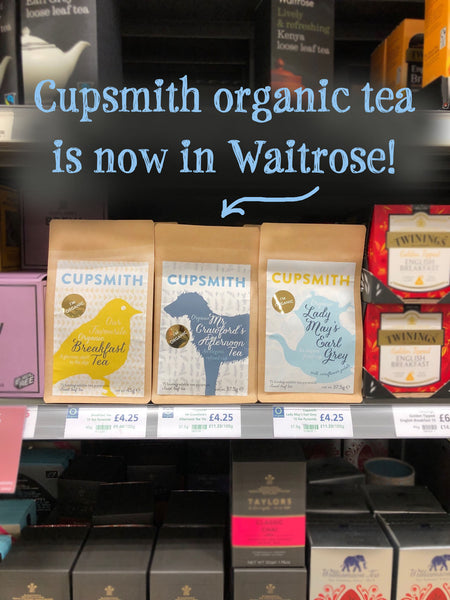 Cupsmith tea in Waitrose