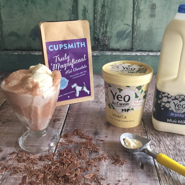 Cupsmith and Yeo Valley milkshake