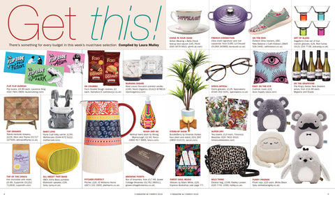 Cupsmith hot chocolate in S magazine
