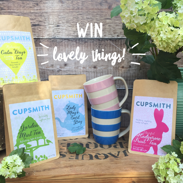 Cupsmith tea giveaway