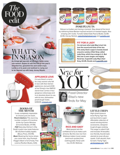 Cupsmith earl grey tea in woman and home magazine