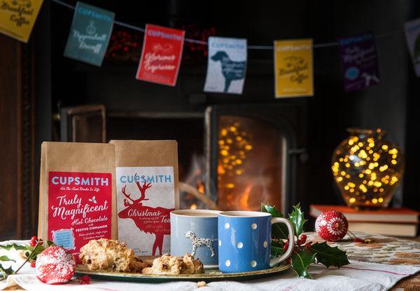 Cupsmith christmas tea and truly magnificent festive hot chocolate