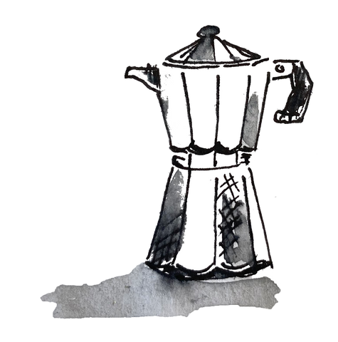 Stovetop coffee cupsmith