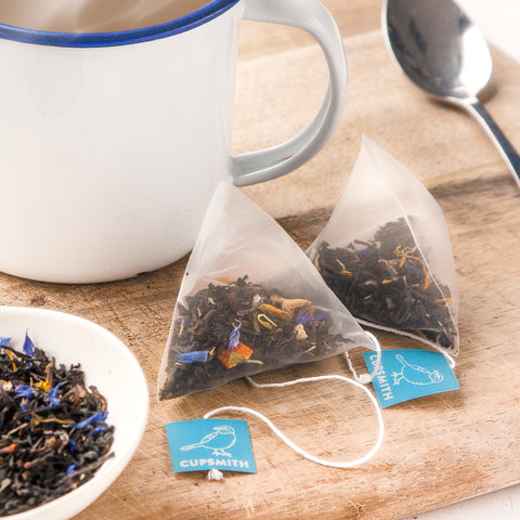 Cupsmith loose leaf tea pyramids