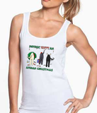 Nothin' Butt An Afghan Hound Christmas Tank Top