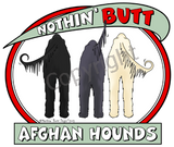 Nothin' Butt Afghan Hounds Shirts - More Styles and Colors Available