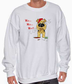 Airedale Santa's Cookies Shirts - More Styles and Colors Available