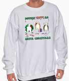 Nothin' Butt An Akita Christmas Sweatshirt