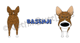 Big Nose Basenji 11 oz Mug
