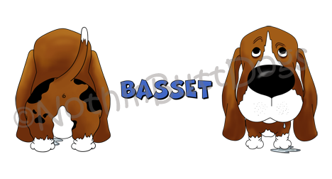 Big Nose Basset 11 oz Mug