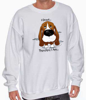 I Drool Basset Hound Shirts - More Styles and Colors Available